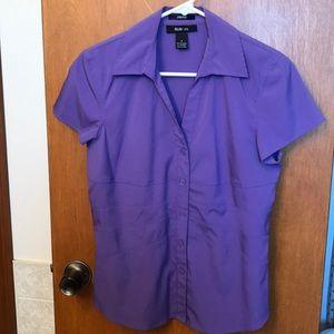 Style & Co button blouse